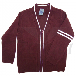 Sweater Escolar con Cierre