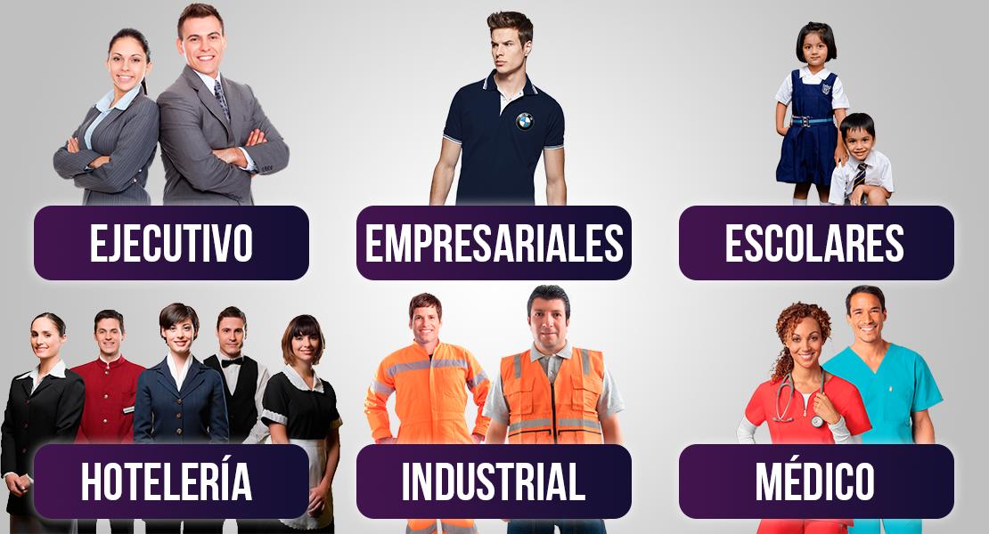 Nos especializamos en la confección de prendas textiles para el uso Escolar, Industrial, Comercial y Corporativo.